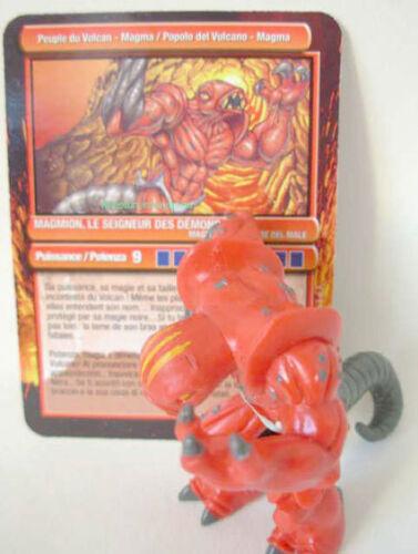 Gormiti  MAGMION Série 1 Peuple du Volcan Magma