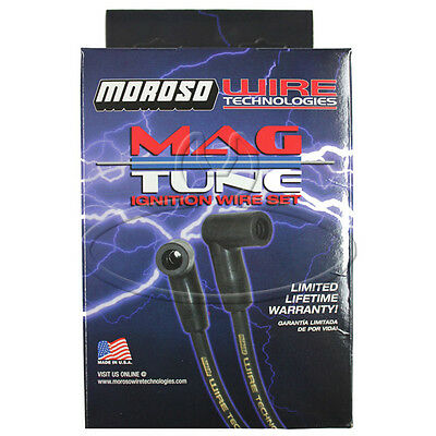 MADE IN USA Moroso Mag-Tune Spark Plug Wires Custom Fit Ignition Wire Set 9242M