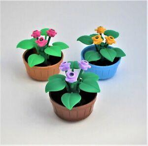 Lego 10x Planta de Flores de Lavanda nuevo!!! 3741 !!