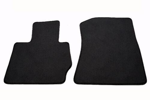 Matten Fußmatten BMW X3 F25 Original Qualität Velours Autoteppiche 2x Klett