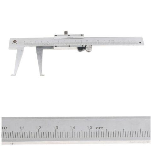 Steel Inside Groove Vernier Caliper 9-150mm Inner Bore Measure Chrome Plated