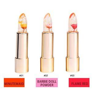 12pcs Lot Whole Magic Colour Temperature Change Color Lipstick Moisturizing Waterproof Fruit Flower Lip Balm Luxury Makeup