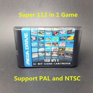 Top-112-in-1-For-Sega-Megadrive-Genesis-Game-Cartridge-with-Contra-Gunstar-Hero
