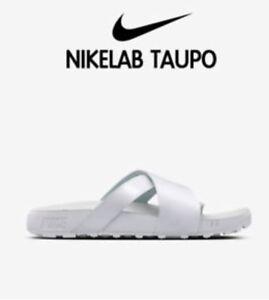 Sliders Patent Premium Taupo Sandals Uk9 eu44 Nikelab us10 100 Leather 849756 qwgIRc1