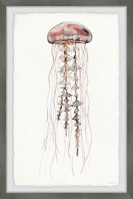 Parvez Taj Hippy Jellyfish Framed Painting Print 12 X 18 Ebay