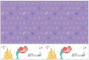 THE-LITTLE-MERMAID-PLASTIC-PARTY-TABLE-COVER-120CM-BY-180CM-ARIEL-NEW-GIFT
