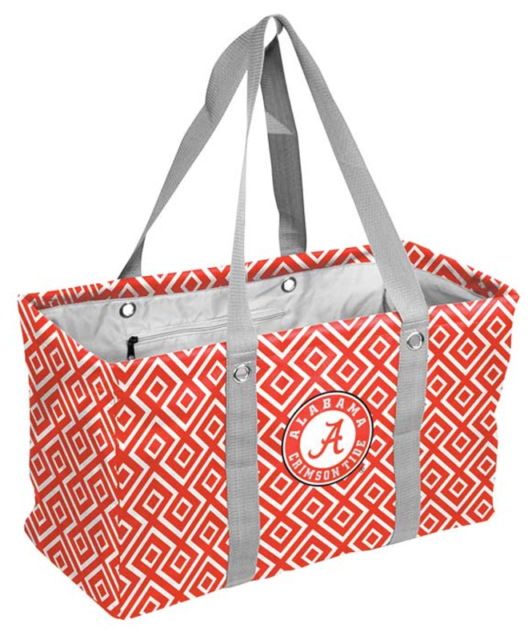 University Of Alabama Tote Bag Crimson Tide Logo Student Fan Graduation Gift