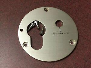 Pioneer-PL-530-Turntable-Parts-Tone-Arm-Metal-Trim-Plate-w-Screws