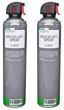 KOKA Druckluftspray 6 Bar 600ml Allzweck-Reiniger mit Röhrchen extragroß