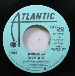 Soul-Promo-45-Ray-Charles-Riding-Thumb-Riding-Thumb-On-Atlantic