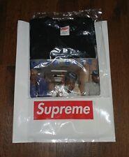 Supreme X Rap-A-Lot Records Geto Boys Tee Black Size Small RARE BOX LOGO