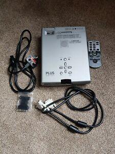 Home Cinema PROJECTOR multimedia office small PLUS U4-131 1500 Lumens Powerpoint
