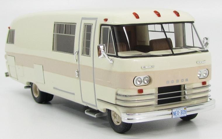 DODGE travco 1963 Blanc Beige NEO46305 1 43