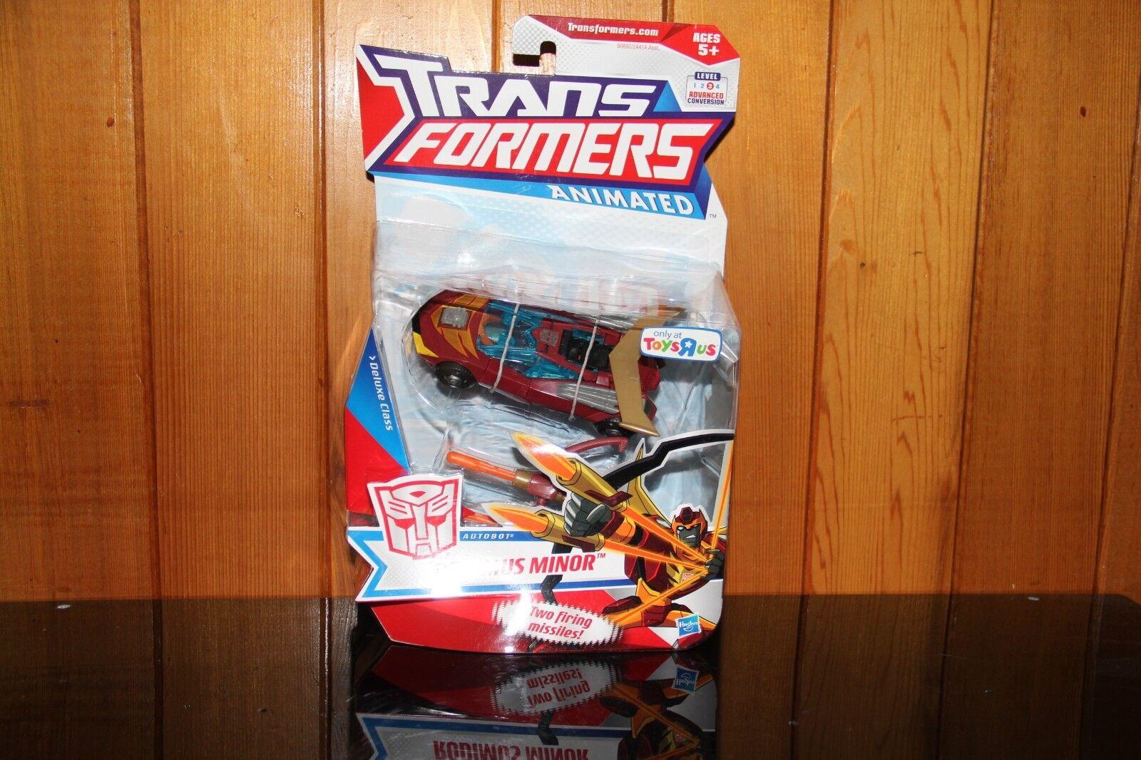 Transformers Animated Rodimus Minor Toys R Us Exclusive