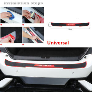 Car & Truck Exterior Mouldings & Trim Car Trunk SUV Sill Plate ...