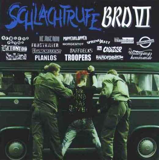 SCHLACHTRUFE BRD 6 Sampler CD (2005 Nix Gut) Neu!