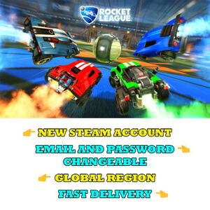 Rocket-League-New-Steam-Account-Global-Region-Fast-Delivery