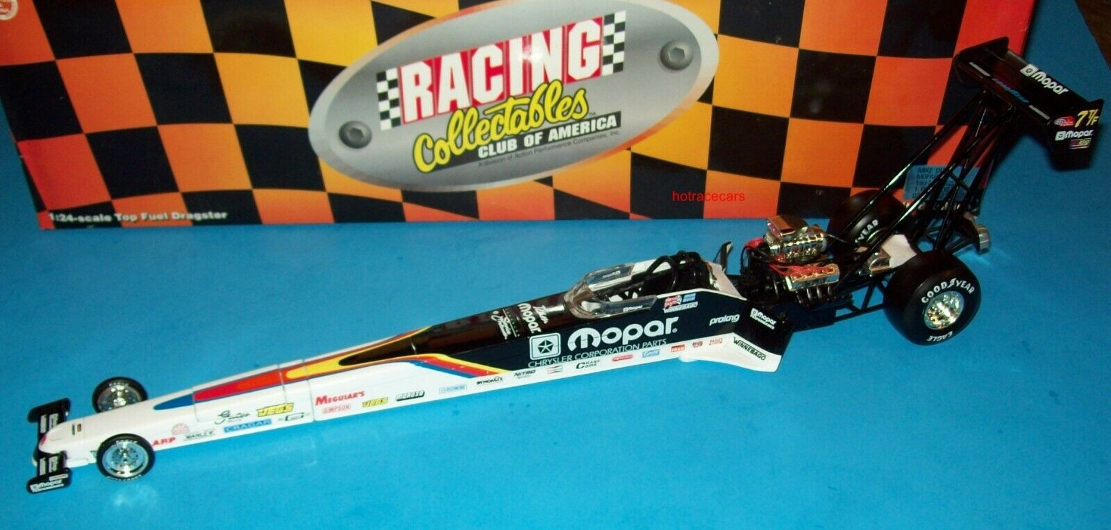Mike Dunn 1997 équipe MOPAR TOP FUEL DRAGSTER 1 24 Racing Collectables Club of America Vintage National Hot Rod Association diecast NEUF