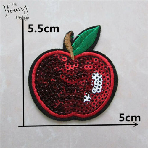 Embroidery Iron on patch Applique DIY Sewing Badges Kids Clothing Accessories