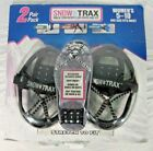 Womens Snow Trax 2 Pack Winter Ice Grippers Size 5-10 for Shoes Walking Traction