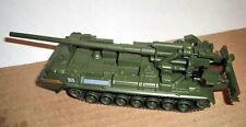 1/72 2S7 Pion Soviet Self-Propelled Howitzer die cast model 55 FABBRI