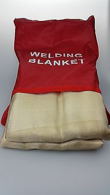 WELDING BLANKET HEAVY DUTY PREMIUM 550 DEGREES 2.4 X 3m FIBREGLASS DEWAXING