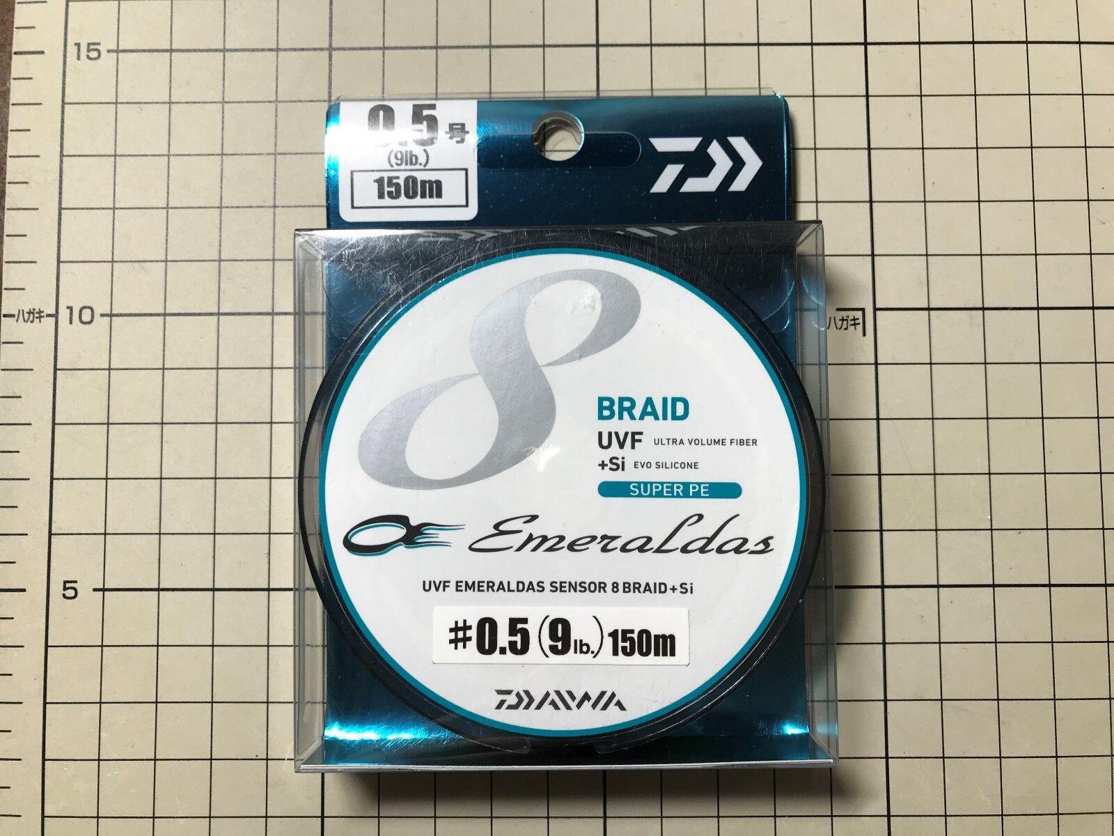 Daiwa Emeraldas Sensor 8 Braid UVF Si+ Super PE line (9lb) 150m