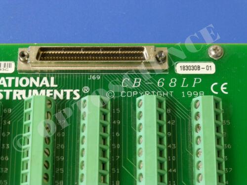National Instruments CB-68LP Connector Block NI DAQ Accessory Screw Terminal