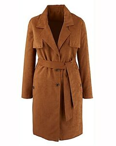 Label-Be-Size-28-Tan-Mock-Suede-Coat-SA076-HH-02