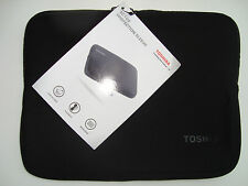 TOSHIBA AC100 FLEXIBLE PROTECTIVE LAPTOP SLEEVE WITH ZIPPER  280 x 220 x 18mm
