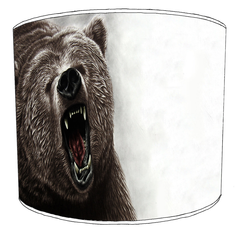 GRIZZLY Bear paralumi, ideale per abbinare Orso Grizzly Adesivi Adesivi Adesivi Murali & Adesivi. 25dac5