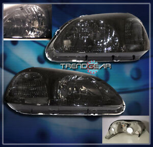 1996 1997 1998 Honda Civic 2 3 4dr Crystal Headlights Jdm