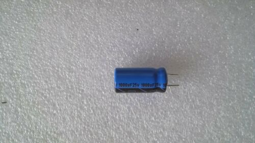 20/% 10 x Aluminium Electrolytic Capacitor 25 V RM 5 MM-NEW 1000 μF