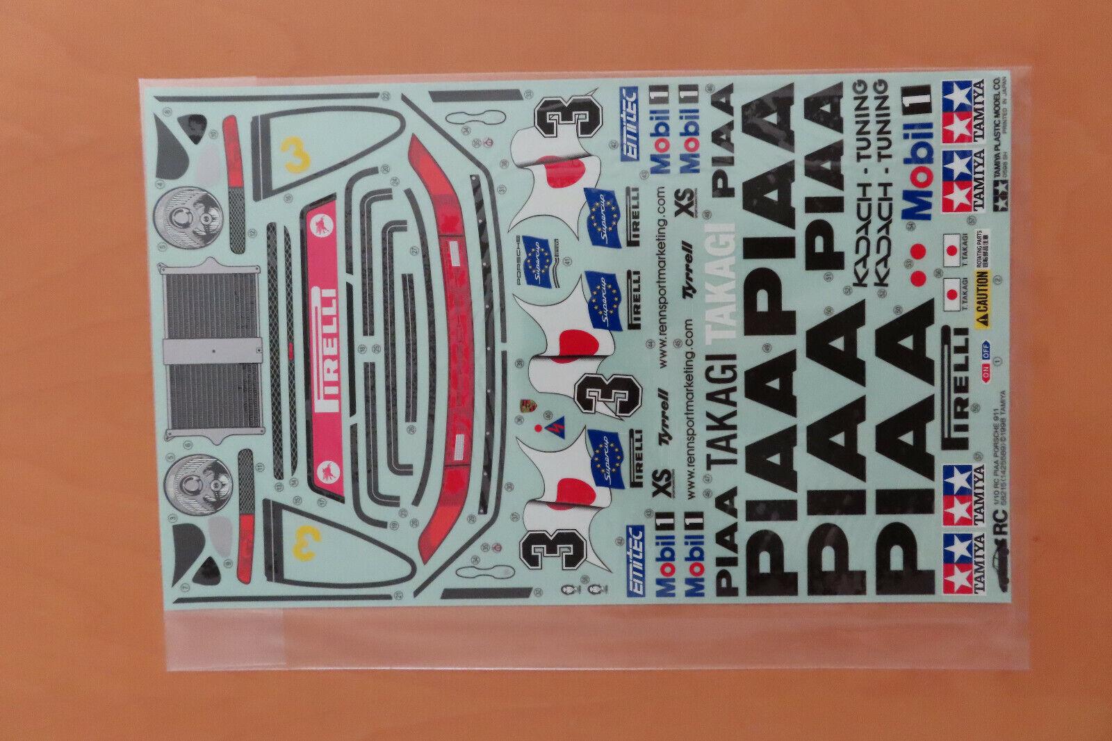 RC Tamiya Appendix 58 215 Piaa Porsche 911 gt2 neu NIB 1998