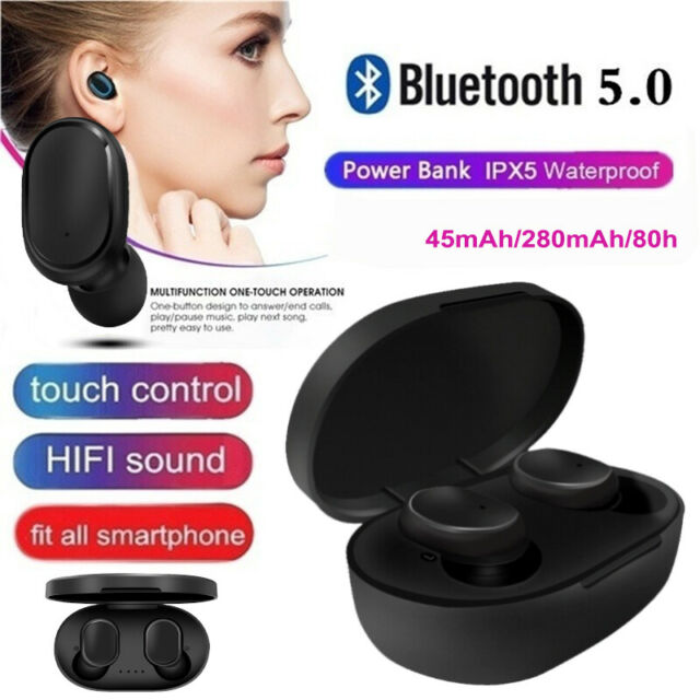 Premium For Redmi TWS Airdots Headset Bluetooth 5.0 Headphone Stereo Earbuds vn