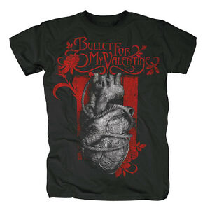 BULLET-FOR-MY-VALENTINE-HEART-NOOSE-OFFICIAL-MENS-T-SHIRT