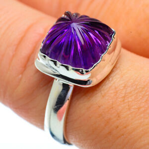 Amethyst-925-Sterling-Silver-Ring-Size-9-Ana-Co-Jewelry-R34198F