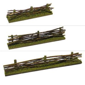 Miniatur Weidenzaun Mini Holzzaun Deko Zaun Gartenzaun Modellbau Naturzaun Ebay