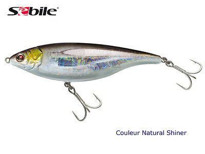 Sebile Stick Shad Shadd 72 Swimbait Bass Pike Lure 72mm SINKING Silver SHINER O