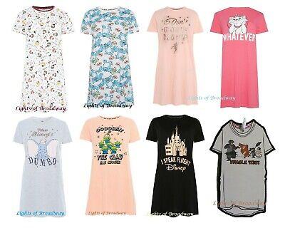 Disney Aristocat Marie Polka dot sleeves Ladies Nightdress Long T-shirt Primark