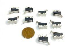 10 X Micro Limit Switch Kw10 Z3p075 Kw10 Mini 3d Printer End Stop Arc Lever E21