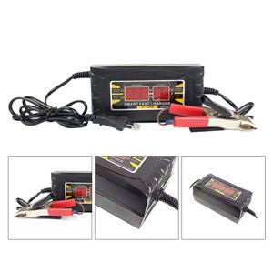 LED-Cargador-De-Bateria-Inteligente-Lead-acid-12V-Para-Coche-Auto-Furgoneta-Moto