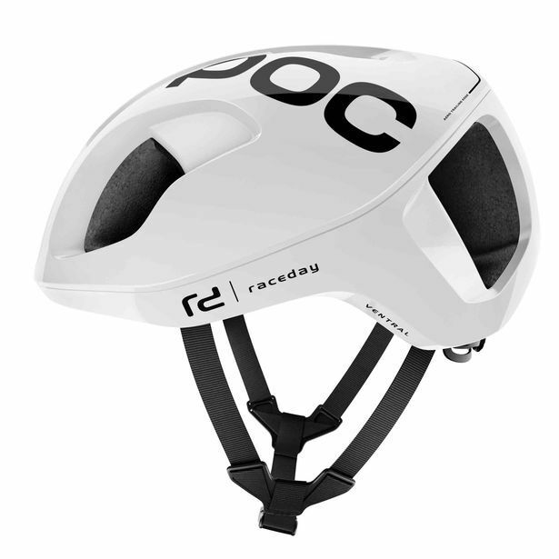 POC Ventral Spin Bicycle Cycling Helmet Hydrogen White Raceday Size Large