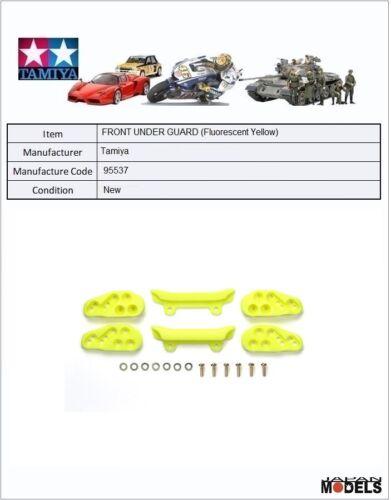 Mini 4wd FRONT UNDER GUARD Saponette Anteriori Tamiya 95537 Fluorescent Yellow