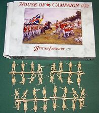 A Call To Arms British Infantry 1775 ACW 1/72 MIB