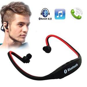 Rs19c Linq ds Auricolari Bluetooth Sport Telefonate Cuffie Vivavoce Mp3 pwpOq0