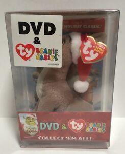 d6db3794956 Shrek the Halls Donkey TY Beanie Baby and DVD Combo DVD + Donkey ...