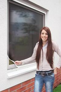 Schellenberg Insektenschutz Magnetrahmen Fliegengitter Fenster 100x120cm