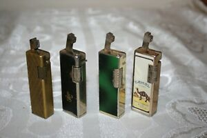 Lot Of 4 Vintage Cigarette Lighters