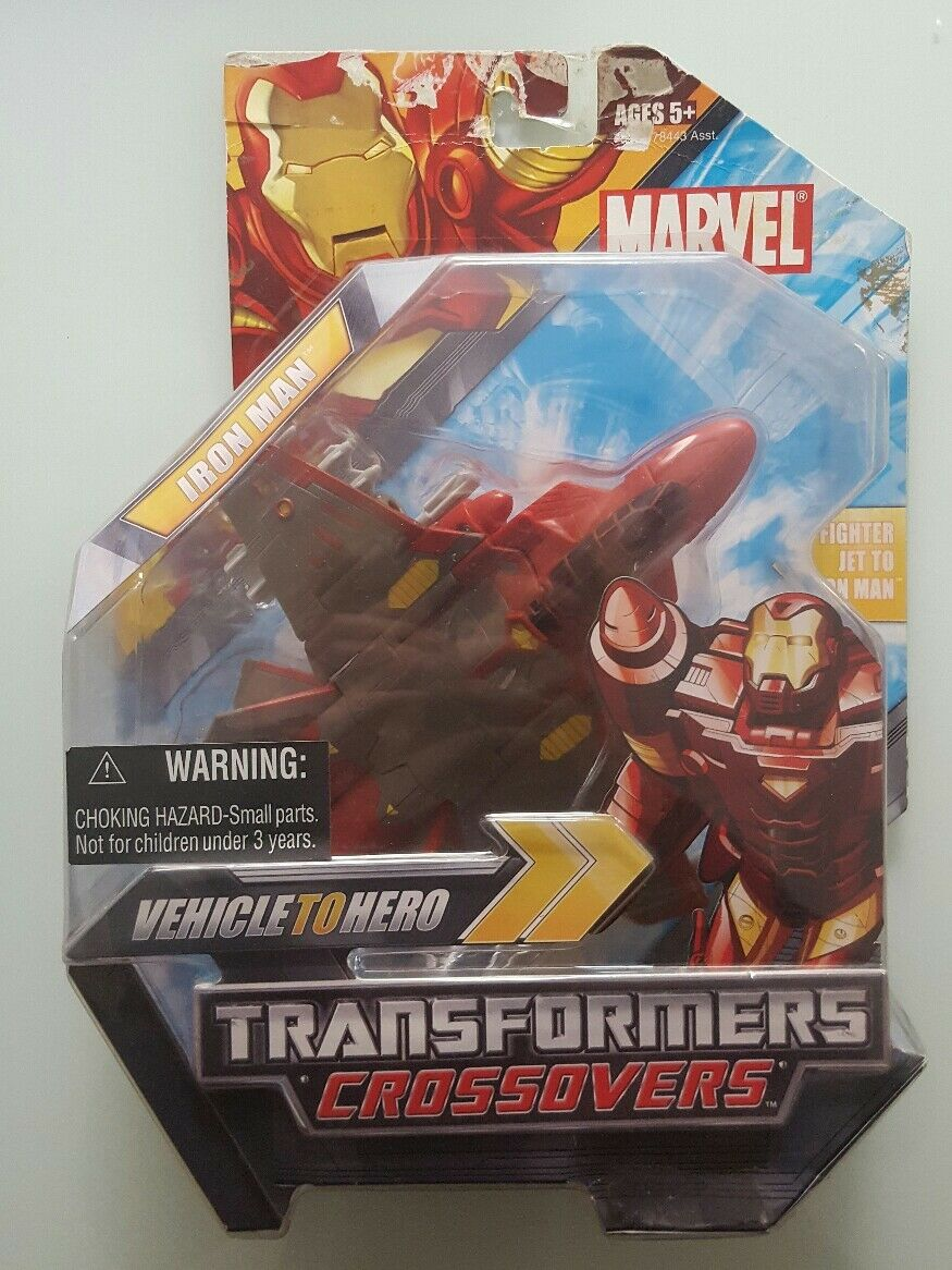 Factory sealed collector´s item Marvel Transformers Crossover Iron Man
